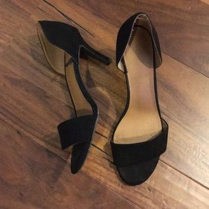 Shoes - h&m suede heels